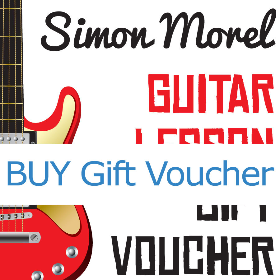 Buy Gift Vouchers for Simon Morel Guitar Lessons