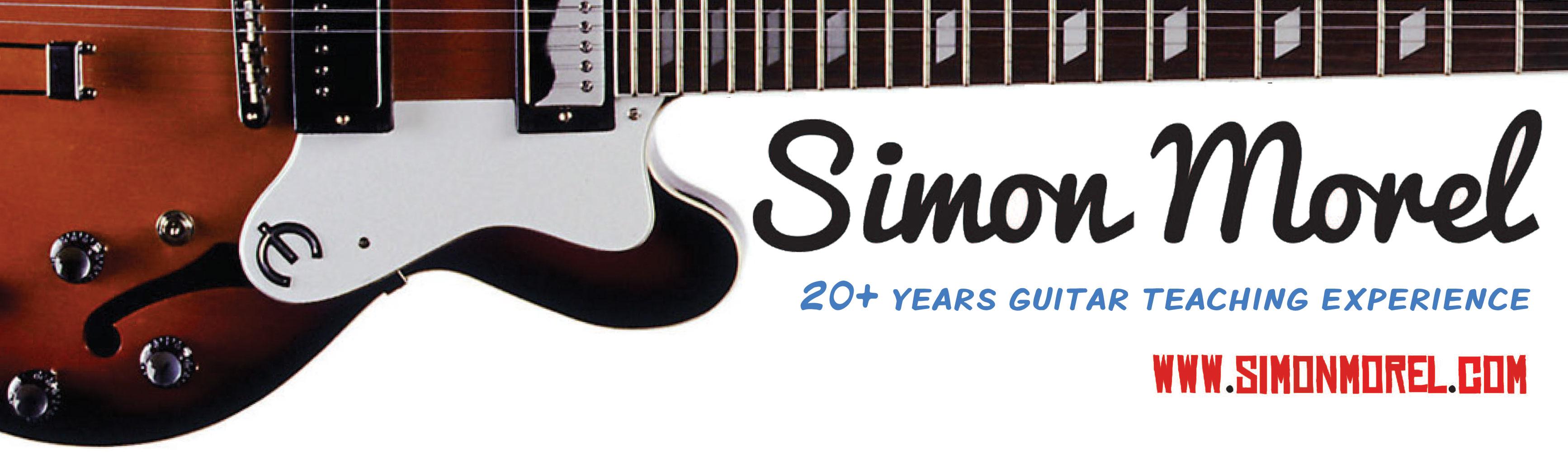 Simon Morel Guitar Lessons