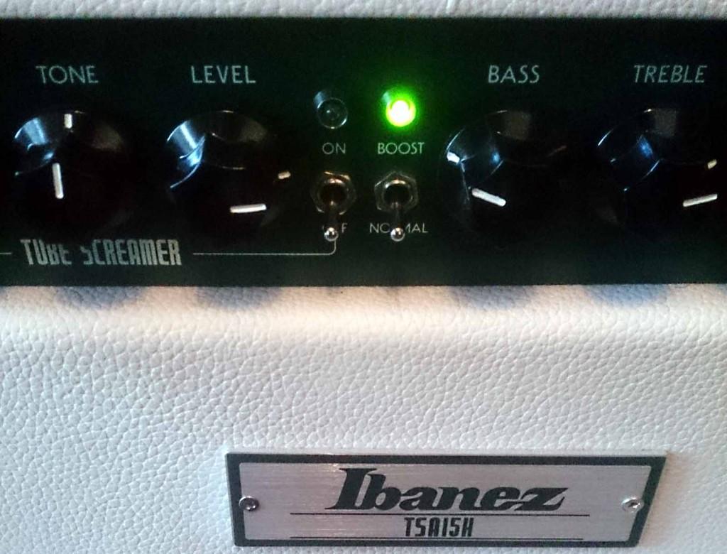 Ibanez Tube Screamer Amp TSA15 close-up
